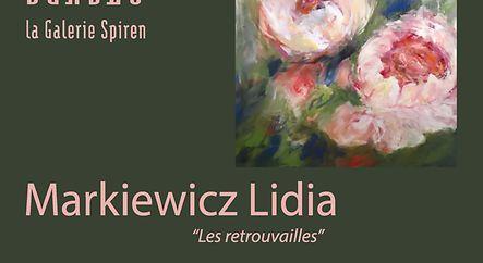 """Exposition Lidia Markiewicz """" Les retrouvailles"""""""