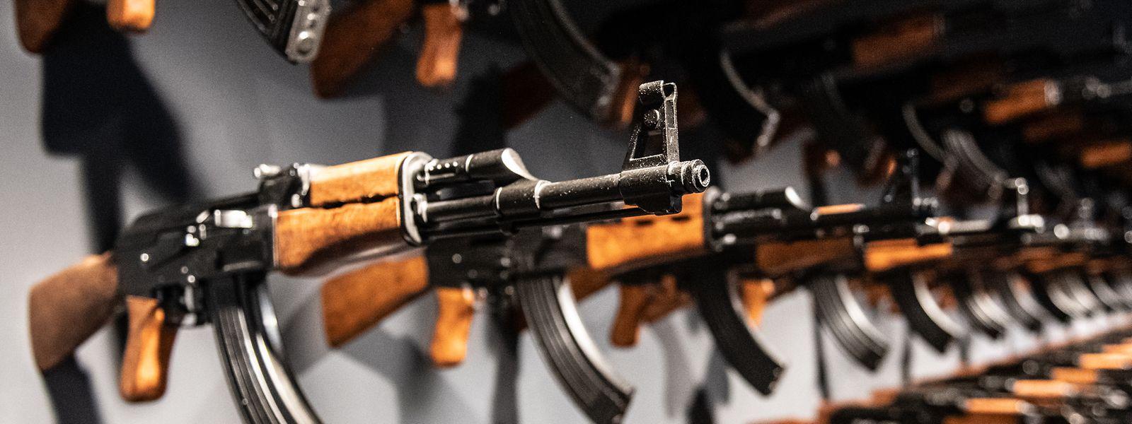 Russland feiert die berühmteste Waffe der Welt - und ihren Erfinder Michail Kalaschnikow.