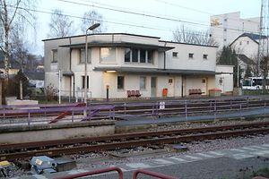 Kleinbettingen Bahnhof / Foto: Charlot KUHN