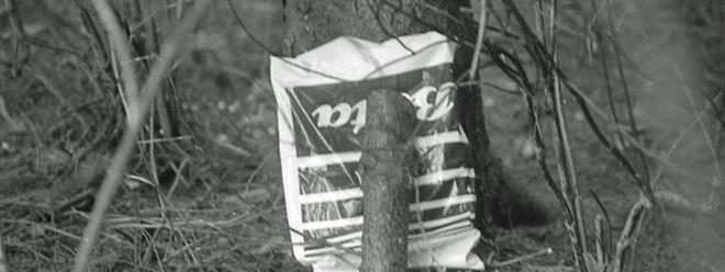 Das Objekt der Begierde: Diese Tüte wurde Ende 1985 vom Geheimdienst observiert.