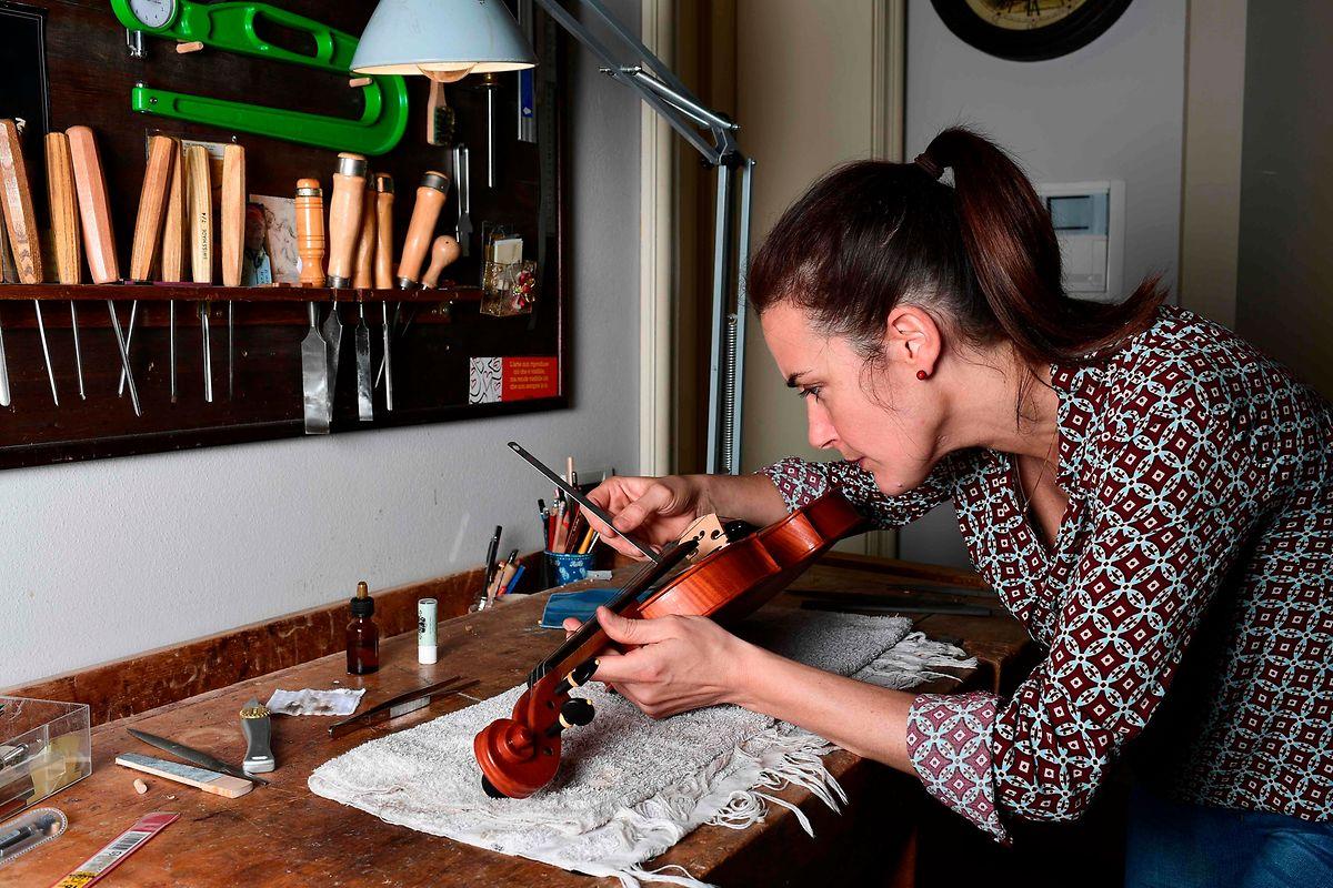 La Française Bénédicte Friedmann  vit et travaille en Italie depuis une vingtaine d'années.
