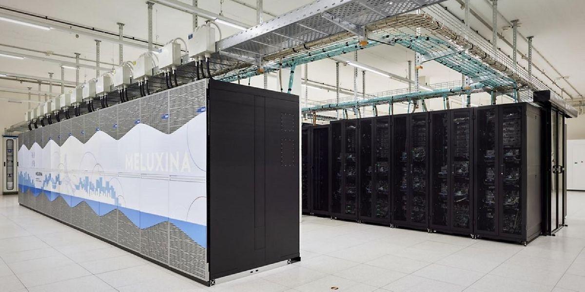 Der Supercomputer Meluxina.