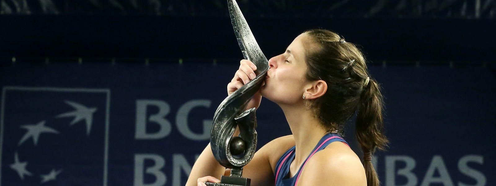 Julia Goerges gewann die BGL BNP Paribas Luxembourg Open 2018.