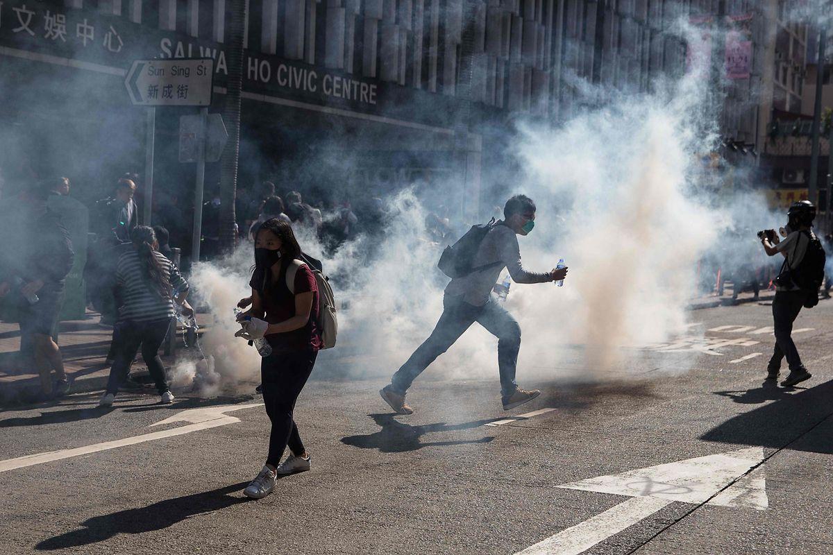 Hongkong erlebt in den vergangenen Tagen eine beispiellose Gewaltserie.