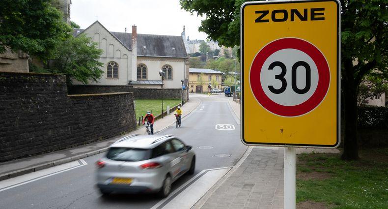 Zone 30 Verkehrsberuhigung Pfaffenthal Siechenhof / Foto: Foto: Steve Remesch