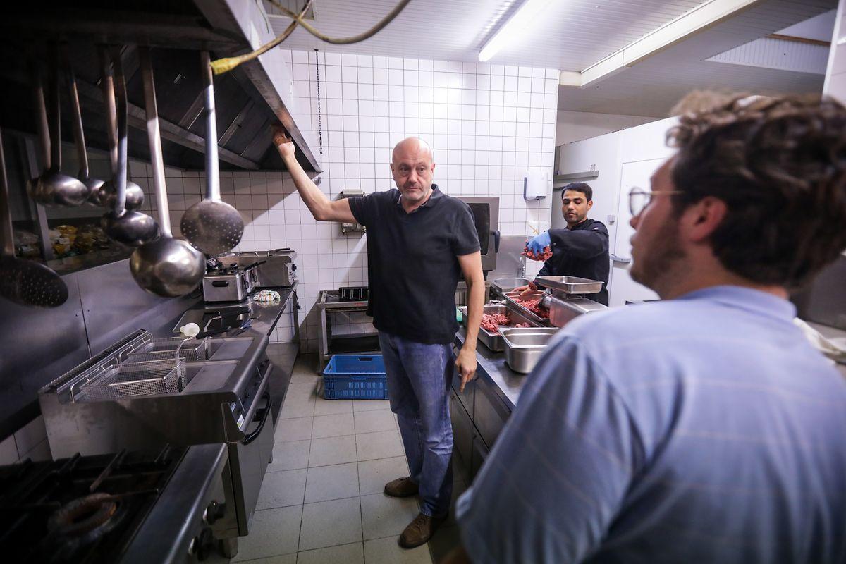 Pit Pirrotte: «Cette cuisine est un outil de travail pour ouvrir d'autres restaurants ailleurs.».