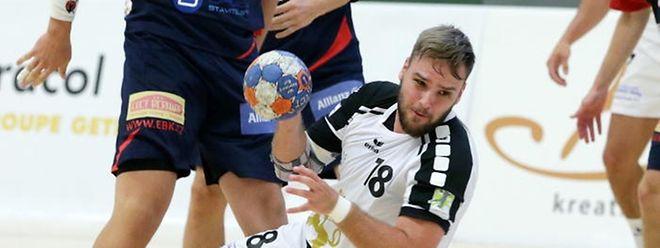 Sascha Marzadori möchte auch dieses Jahr wieder mit dem HB Esch eine wichtige Rolle spielen.