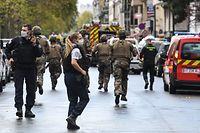 """Zu der Attacke war es am Freitag in unmittelbarer Nähe der früheren Büros des Satiremagazins """"Charlie Hebdo"""" gekommen."""