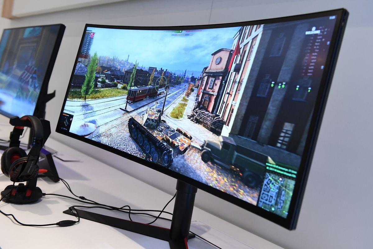 Curved-Monitore haben einen nach innen gewölbten Bildschirm und sind etwa bei Computerspielern beliebt.