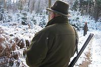 Winterlanschaft Wald Schnee Jagd Jäger Treibjagd Photo Teddy Jaans 12.12.20