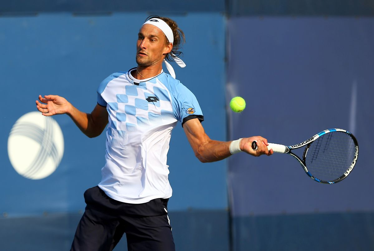 Ruben Bemelmans zeigte ganz solides Tennis.