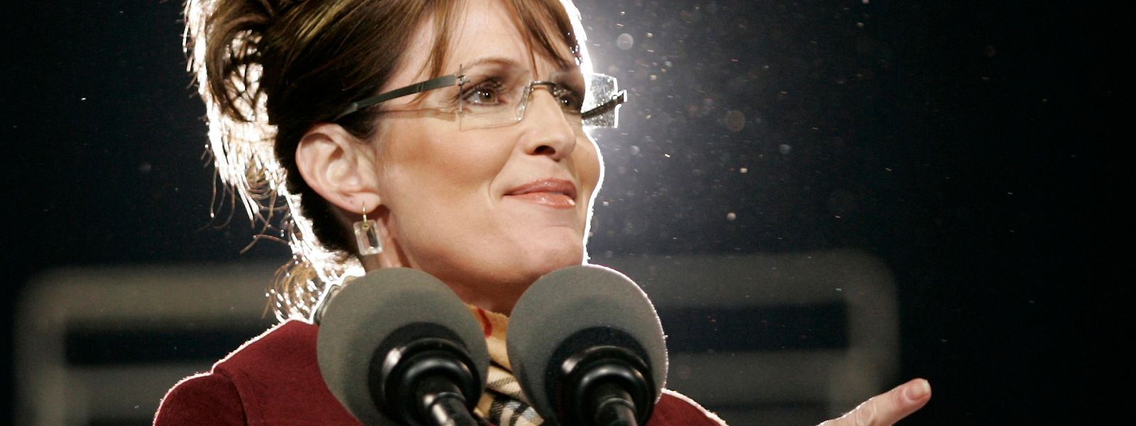 Agierte im Wahlkampf 2008, vorsichtig fomuliert, glücklos: Sarah Palin.