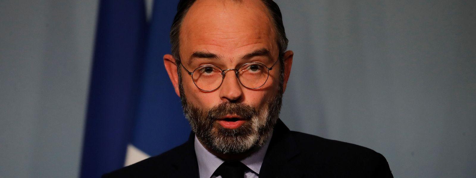 Pour le Premier ministre Edouard Philippe «il est clair que nous n'en sommes qu'au début de la vague épidémique»