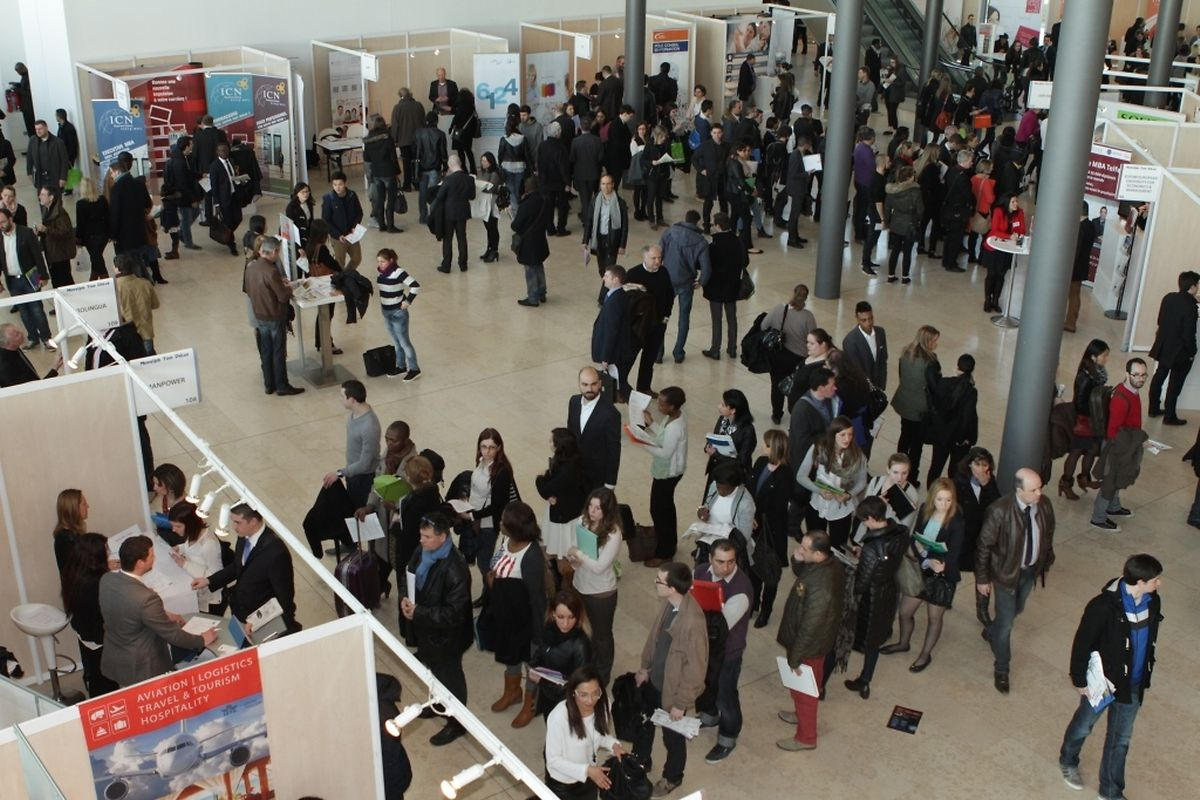 Les trois dernier Nos trois derniers évènements luxembourgeois (Unicareers.lu 2014, Plug&Work 2014 et Moovijob Tour 2015) ont permis à 1.600 personnes d'être recrutées!
