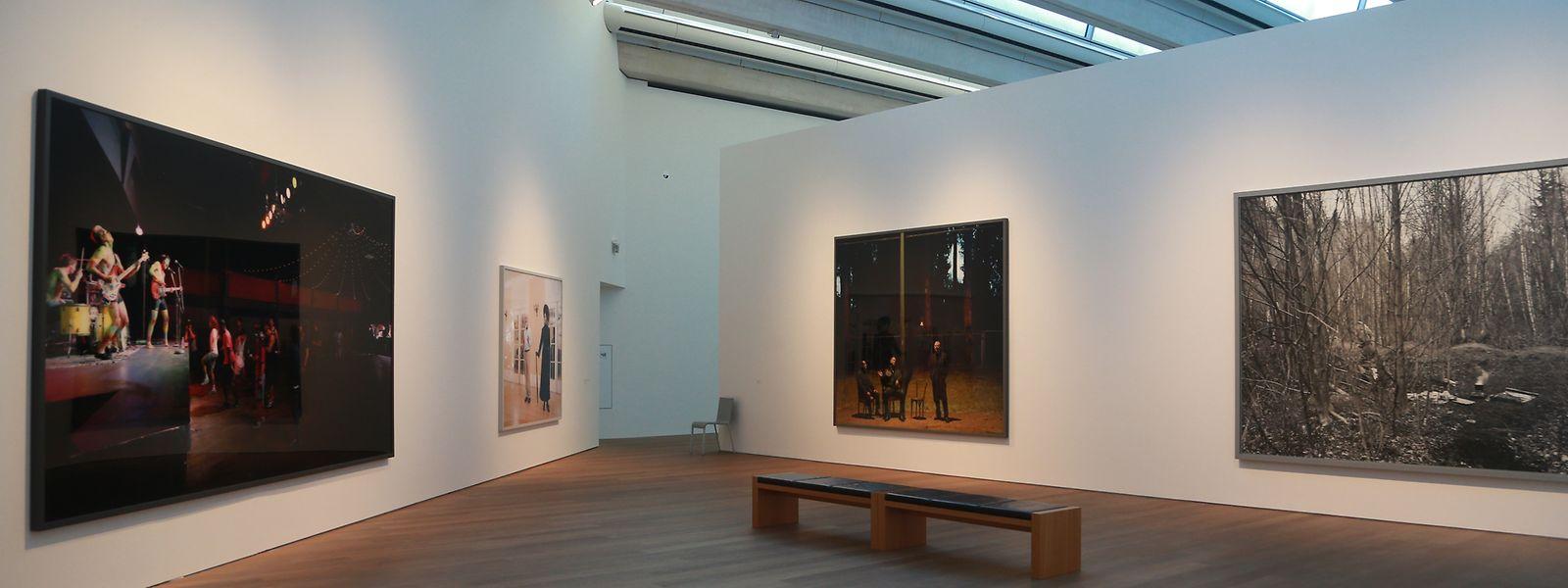Les deux grandes salles du 1er étage accueillent l'exposition.