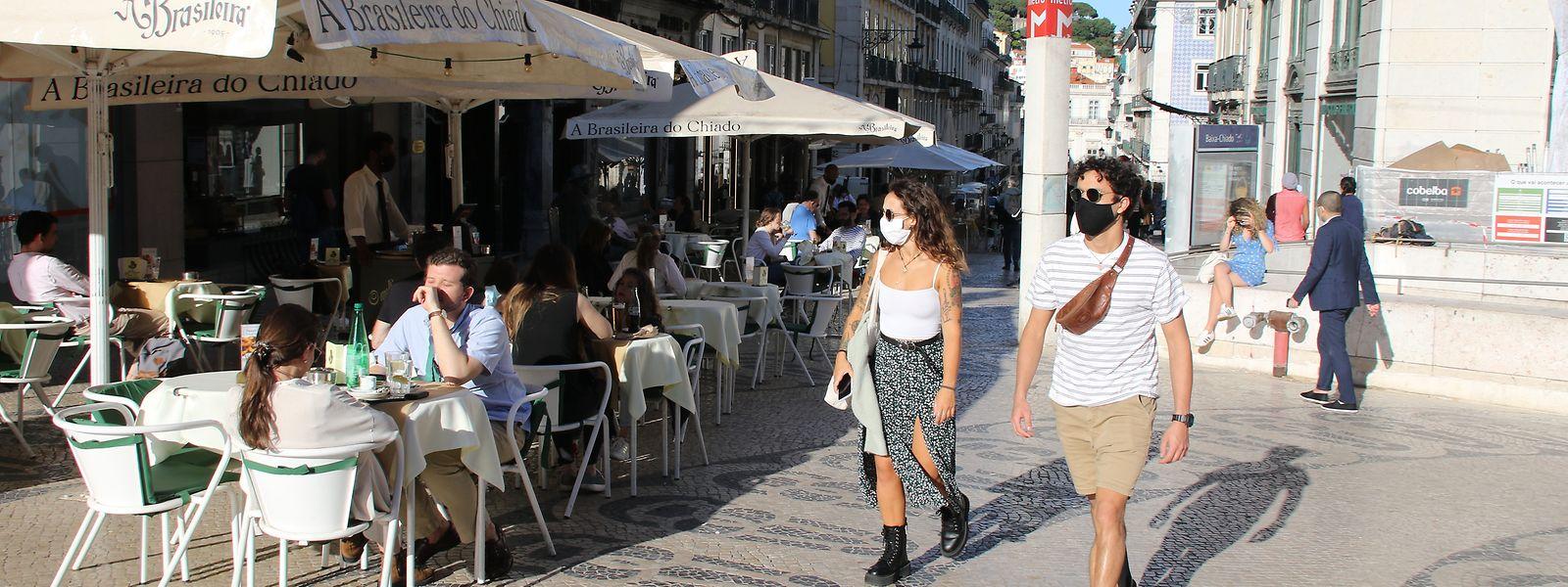 Lissabons Gastronomie hat sich erst langsam von Corona erholt.
