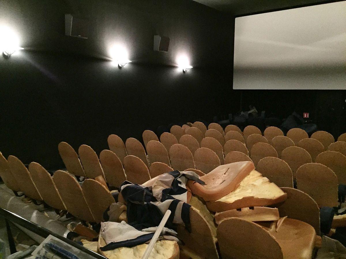 Les salles du cinéma sont entièrement refaites, afin d'améliorer la qualité de son et d'image, mais également pour mieux accueillir les personnes à mobilité réduite.