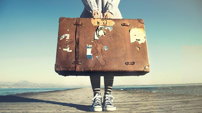 Aus dem Koffer leben, Reisen, Urlaub