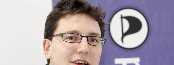 Parteipräsident Sven Clement wurde zum Spitzenkandidat der Luxemburger Piraten für die Europawahlen im Mai gewählt.