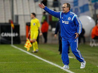 Marcelo Bielsa, hier im Marseille-Dress, wird bald den OSC Lille coachen.