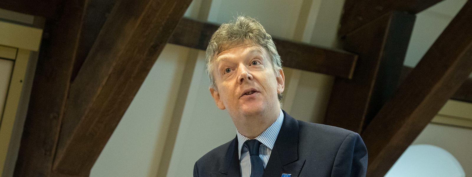Zu Gast in Luxemburg: Vor 20 Jahren hat Graham Wright eine Beratungsgesellschaft für Finanzintegration – MicroSave – gegründet, die heute Projekte in mehr als 50 Entwicklungsländern betreut.
