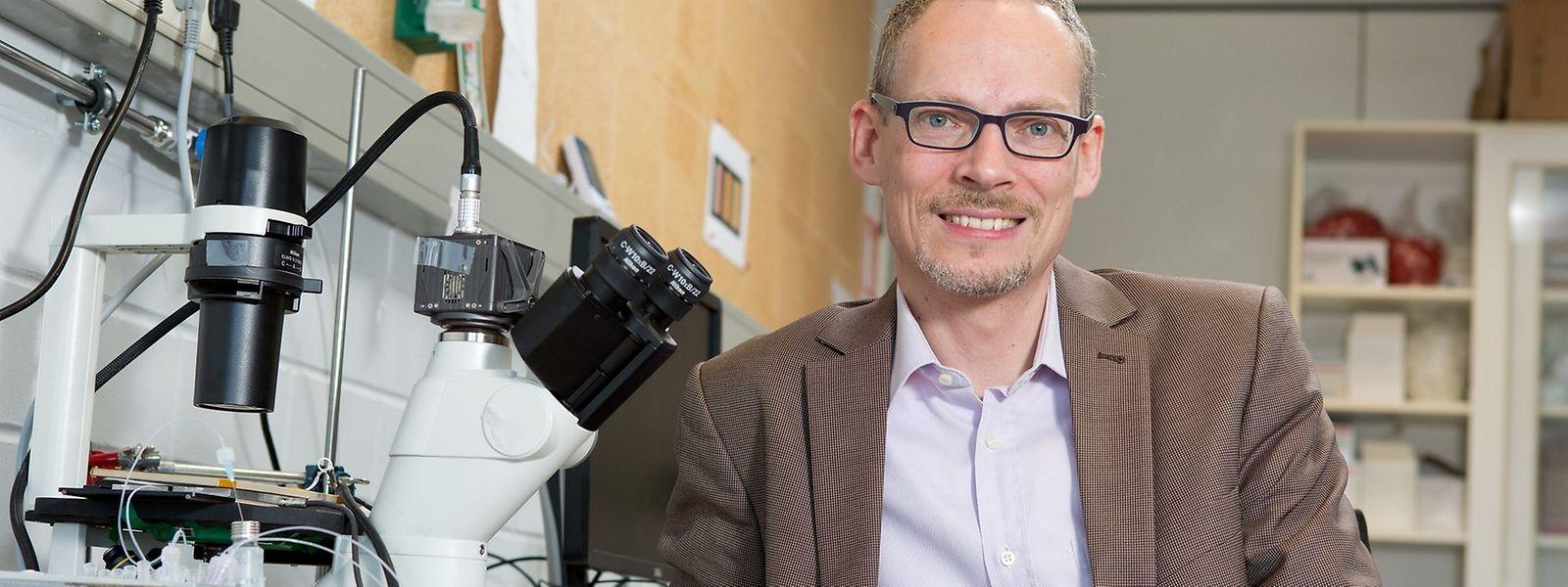Prof. Dr. Jan Lagerwall erhält den Förderpreis der europäischen Forschungsrates.