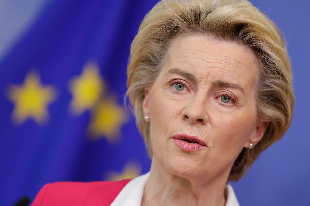 EU-Kommissionspräsidentin Ursula von der Leyen stellt den neuen EU-Asylplan vor.