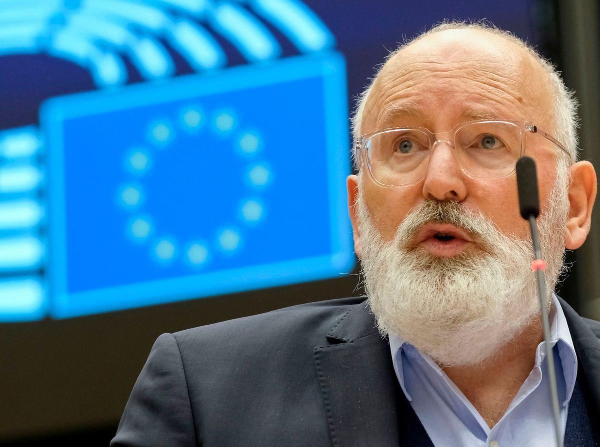 Frans Timmermans setzte sich für den Vorschlag der Kommission ein.