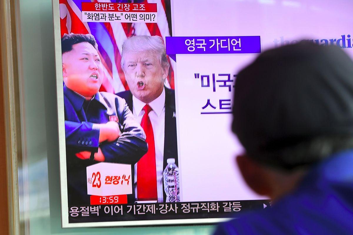 Der Konflikt gerät in der Wahrnehmung zunehmend zum Duell Kim vs. Trump.