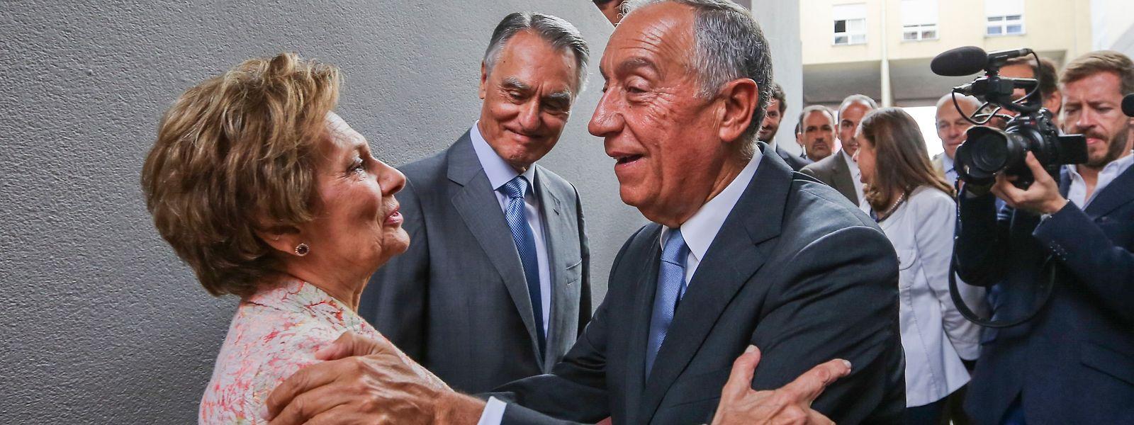 Maria Cavaco Silva e Marcelo Rebelo de Sousa.