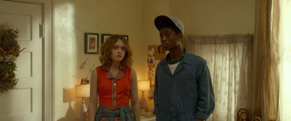 Gregs beste Freunde: Rachel und Earl.
