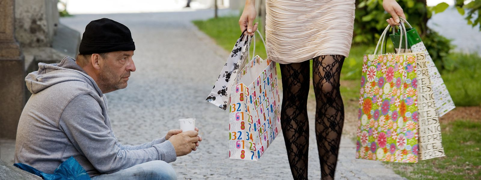Dix pour cent de la population touche moins de 979 euros par mois au Luxembourg.