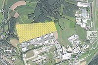 """Neben der Industriezone """"Klengbousbuierg"""" hat Google ein 33,7 Hektar großes Gelände erworben."""