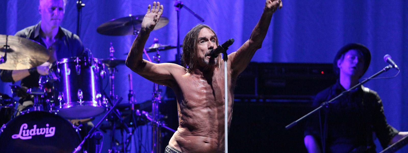 Dynamische bis exzessive Bühnenauftritte mit nacktem Oberkörper bleiben sein Markenzeichen: Iggy Pop hat eine neue Platte.