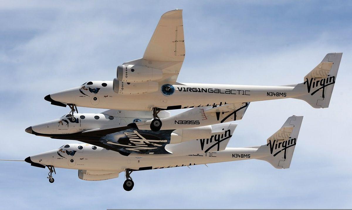 Le vaisseau a décollé vers 09H20 (16H20 GMT) depuis la base spatiale du Mojave.
