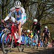 Michel Ries sous le maillot de l'équipe nationale à Gand-Wevelgem. La promesse du cyclisme luxembourgeois a pointé le Giro comme prochain but.