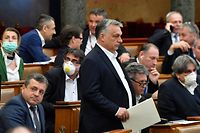 Viktor Orban erließ kurzerhand ein Gesetz, das ihn mit unumschränkten Vollmachten ausstattet.