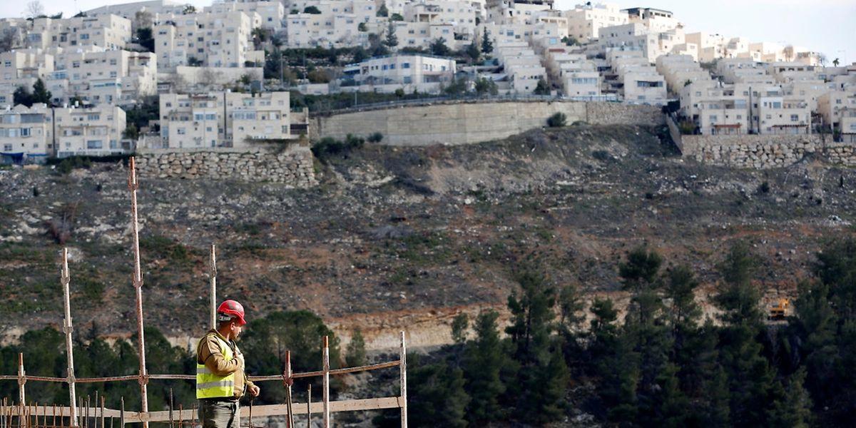 Israelische Siedlung Ramat Shlomo. REUTERS/Ronen Zvulun
