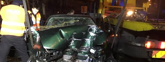 Für den Unfallfahrer kam jede Hilfe zu spät.