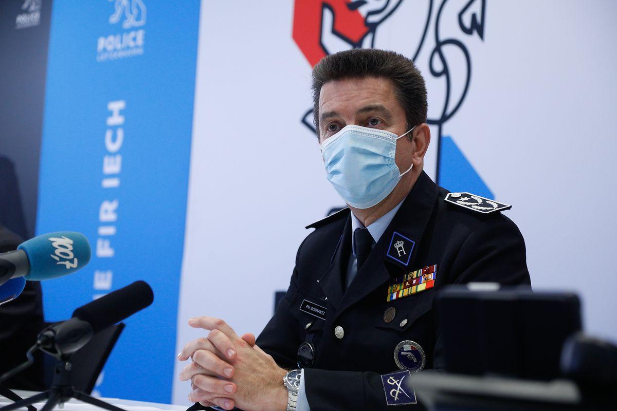 """Philippe Schrantz: """"Die Polizei braucht die nun zu rekrutierenden Menschen, damit die Polizeireform von 2018 sich überhaupt entfalten kann."""""""