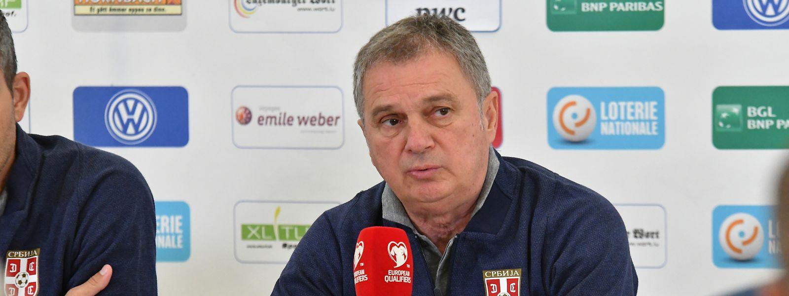 Ljubisa Tumbakovic hat Respekt vor der FLF-Auswahl.