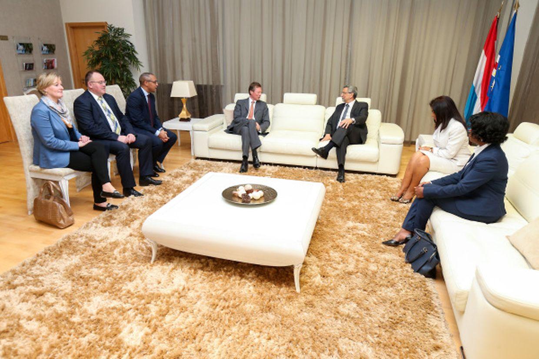 Esta é a primeira visita do Grão-Duque a Cabo Verde