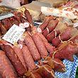 La charcuterie comme la viande tiennent une place importante dans la tradition luxembourgeoise, comme ici à Medernach.