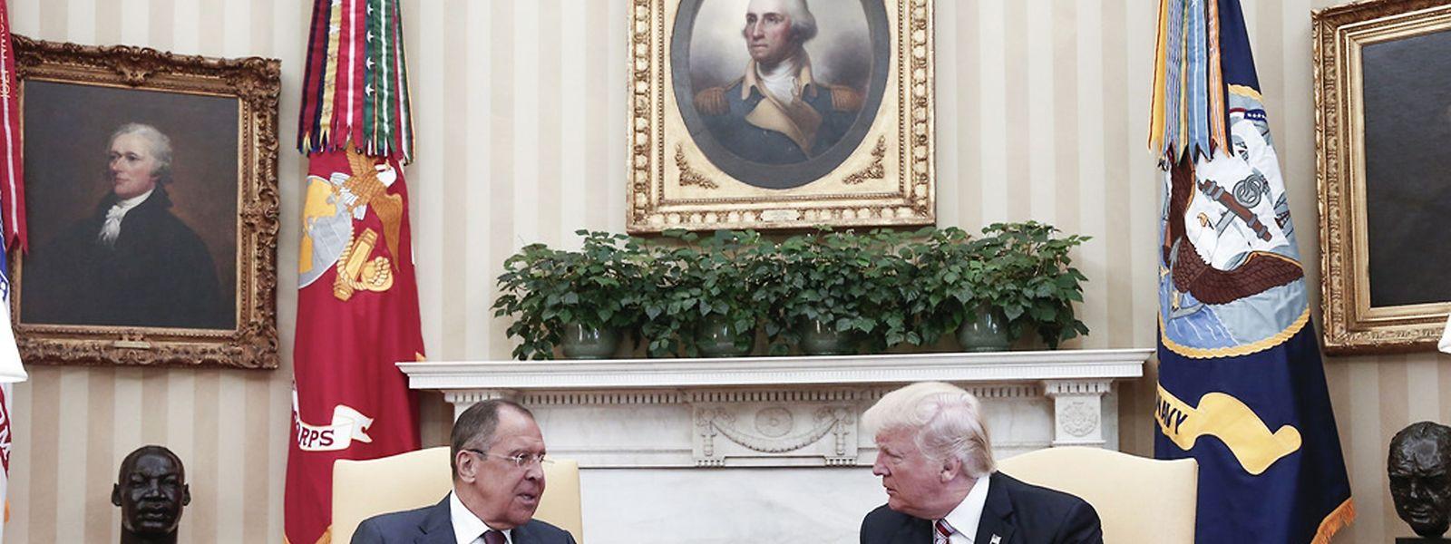 Trump hatte Lawrow am 10. Mai im Weißen Haus getroffen.