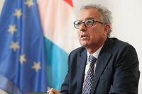 Politik, Sommerinterview Pierre Gramegna, Minister der Finanzen, Foto: Guy Wolff/Luxemburger Wort