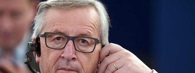Jean-Claude Juncker war am Mittwoch zu Gast im EU-Parlament in Straßburg.