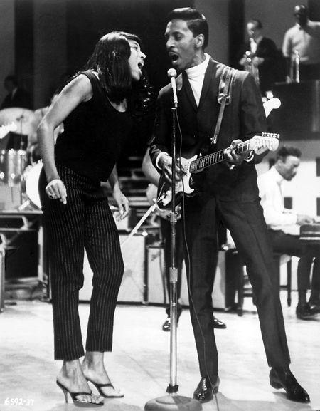 Ab Ende der 1950er-Jahre zunächst unzertrennlich: Ike und Tina Turner.
