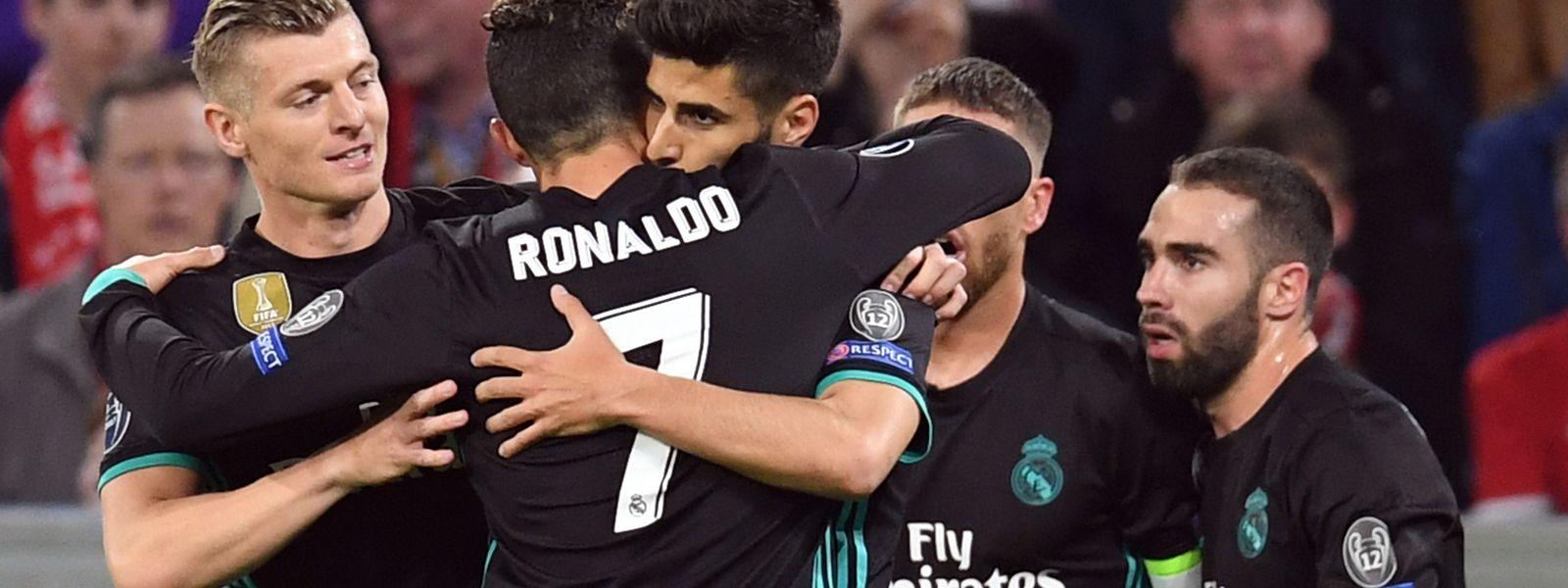 Real Madrid vence em casa do Bayern de Munique na primeira-mão das meias-finais da 'Champions'
