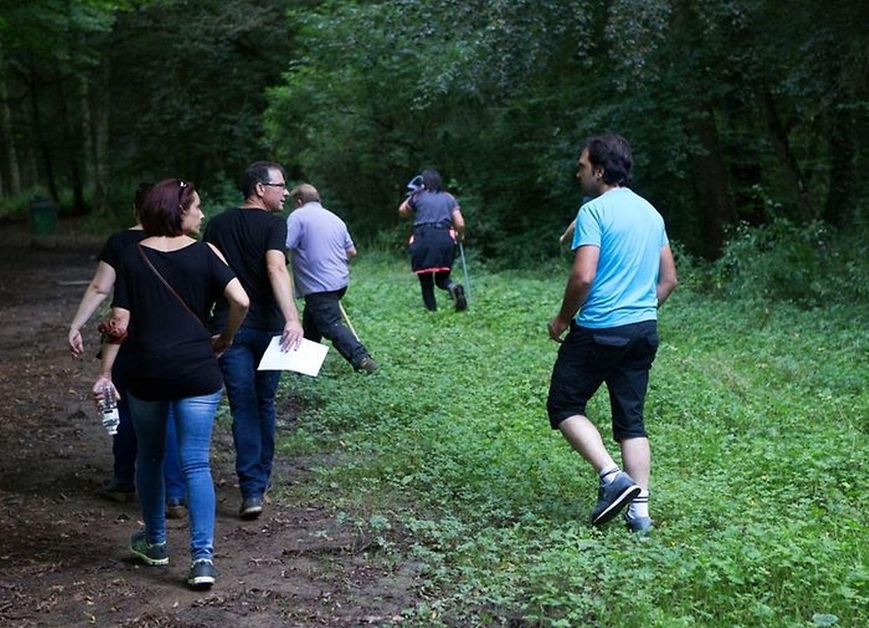 Mais de 60 pessoas estiveram envolvidos na busca