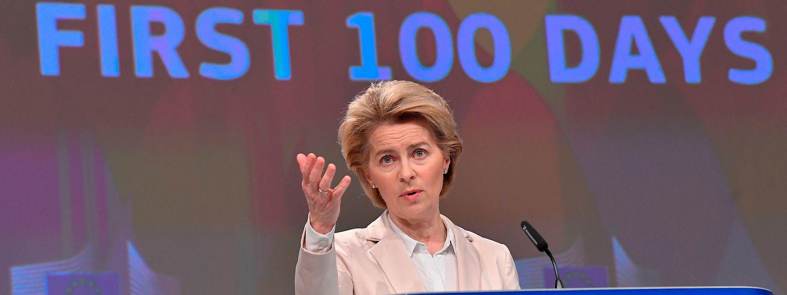 Von der Leyen kündigte einen neuen Vorschlag für europäisches Asylrecht an.